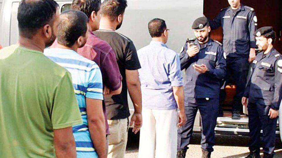 Kuwait PAM illegal expats