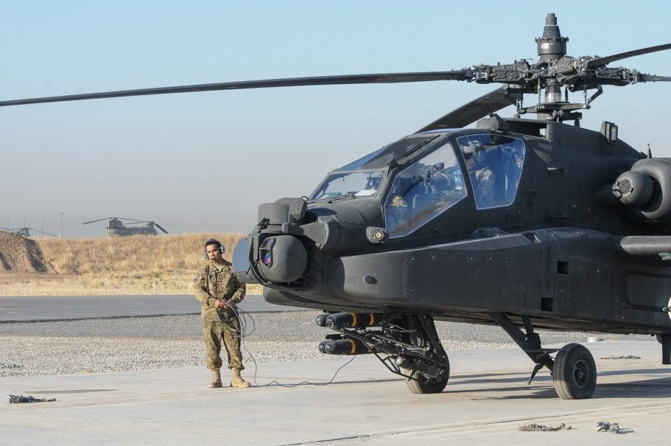 US greenlights $4 billion attack helicopter sale to Kuwait